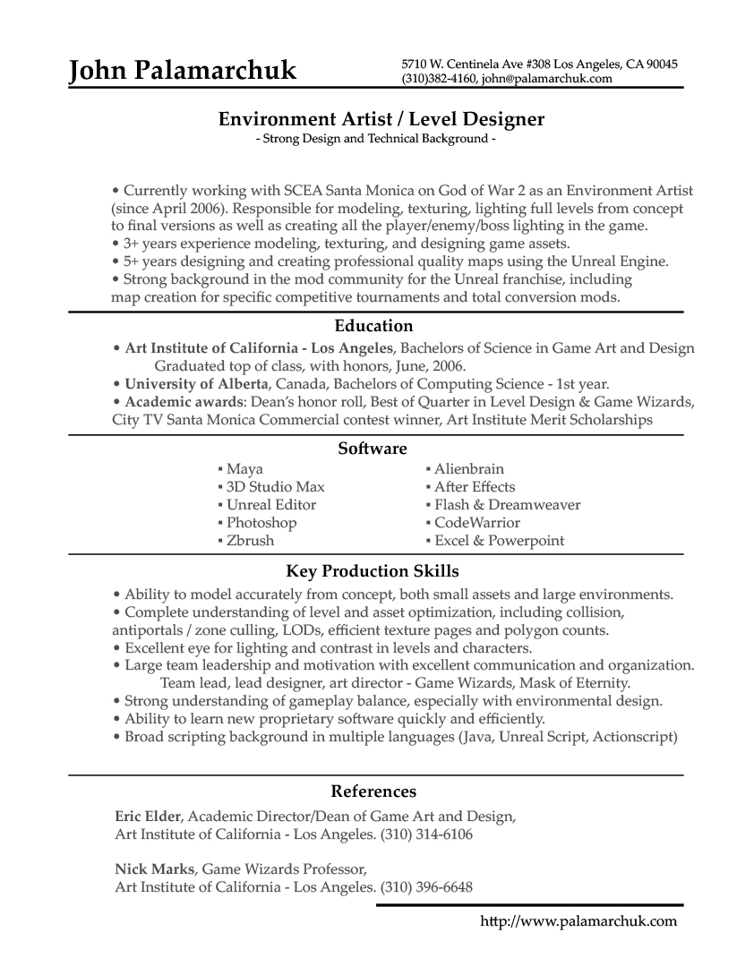 Beautiful Template Inside Updating Resume